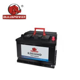 12V 120Ah Dry Charged Car Battery