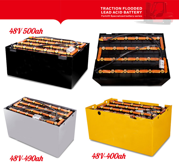 Traction Forklift battery